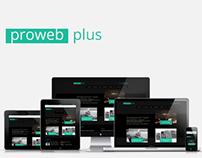 Prowebplus — Responsive Redesign