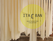 ITAJBAN_Resist Hand Dyed Collection of Cushions