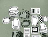Retro TV Prints