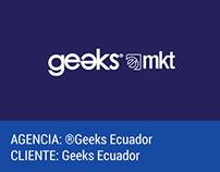 BRANDING. Submarcas Geeks Ecuador