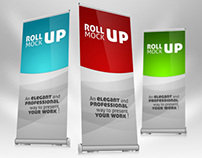 Roll-up Banner Mock-up