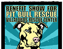 Pitbull Rescue Benefit Show a few years back