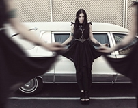 Chelsea Wolfe editorial for LADYGUNN