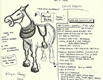 Notes, Sketches, & Drawing Exercises