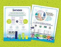 Genexa Educational Social & Sales Campaign