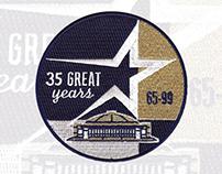 Houston Astros 1999 Astrodome patch