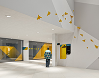 MTN HQ, ACCRA - ENVIRONMENTAL GRAPHICS PITCH