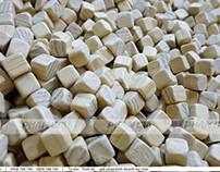 Khu chơi hạt gỗ dành cho bé
