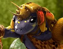 Salamander Shaman Warrior