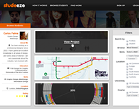 Studeeze User Interface