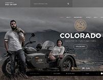 Uralsidecar Adventures Website design & Development.