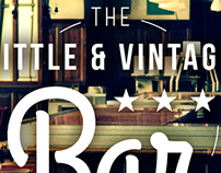 The Little & Vintage Bar.