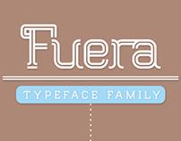 Fuera typeface