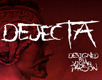 Dejecta typeface