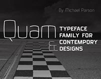 Quam typeface
