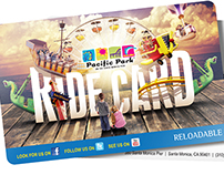 Ride Card - Pacific Park