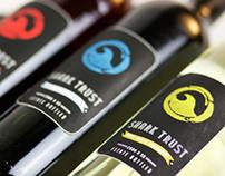 Shark Trust Label Design