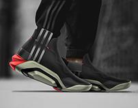 /// Biomech sneaker concept