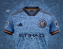 NYC FC   Home Kit Concept