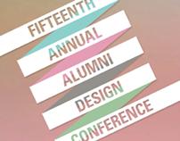 15Annual Alumni Design Conference  |  Kinetic Typograpy