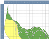 The Pinnacle Nature Reserve Grid Map