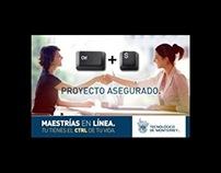 Campaña para Maestría en Línea