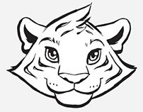 Kriegisch Tiger Logos
