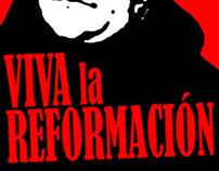 Viva la Reformación design