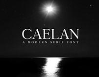 Free Calean Serif Font
