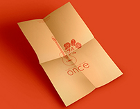 Once Poster | Minimalist Redesign