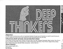 Deep Thinkers Datura Records Press Release (2004)
