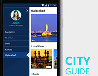 City Guide - Indian Cities - places & foods - app
