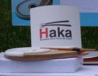 Haka bandeja de sushi