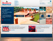 Thompsons WaterSeal Website Design