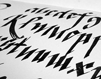 365 Days of Calligraffiti
