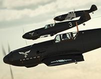 Messerschmitt Bf 109 CGI