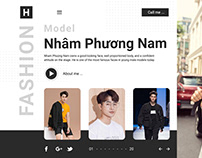 Figma - Fashion web UI