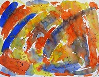 Abstract Watercolors by Kevin Geary