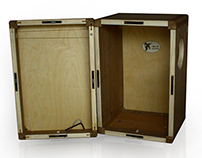 DeCajon, cajon that becomes a briefcase