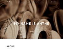 Anthe, Joomla One Page Business Portfolio Template