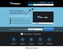Freelancer website Redesign