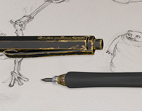 Artist's Clutch Drawing Pencil