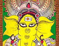 Kalamkari Gods