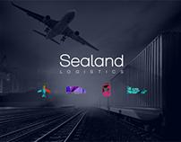 Sealand Logistics Logotype lifting & key visual concept