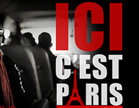 Single 'Ici c'est paris' de Celeo Scram