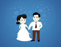 Cute Couples Illustration