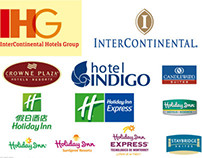 IHG web pages, sales banners and newsletters
