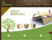 Chamundi Timbers Web UI Design
