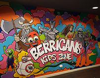 Berrigans Bar Kids Zone Mural