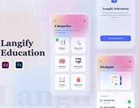 Best Online Education App UI Design